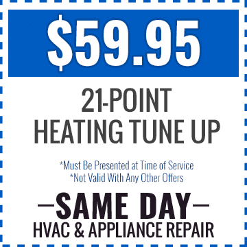 $59.95 21-Point Heating Tune-Up
