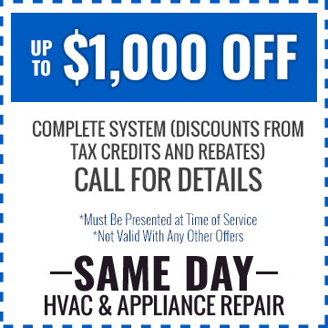 Up To $1,000 Off Complete System